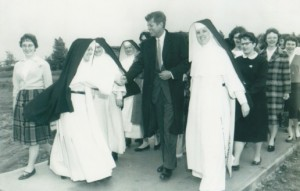 JFK with Marycrest Sisters